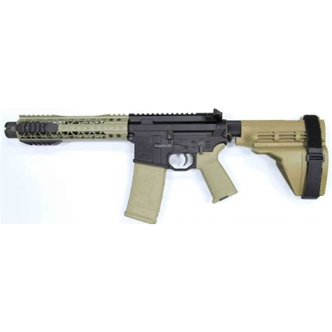 Ar15 Pistol Fde With Sig Sauer Sb15 Pistol Brace And Noveske Kx3 Pig | black rain 7 5 quot 5 56 ar15 pistol fde with sig sauer sb15