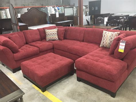 corinthian loxley sectional sofa bob mills furniture okc