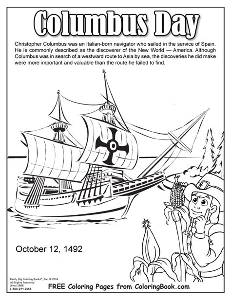 columbus day printable hidden picture coloring pages