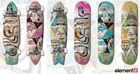 Cool Artist Steven Harrington by Element X Steven Harrington Quot Our Mountain Quot Skateboard