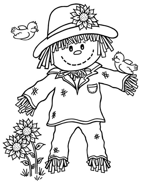 pumpkin scarecrow coloring pages best 25 scarecrow coloring pages free printable ideas on