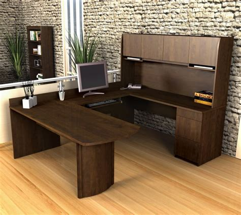 office furniture u shaped desk creative design of u shaped desk for home office homesfeed