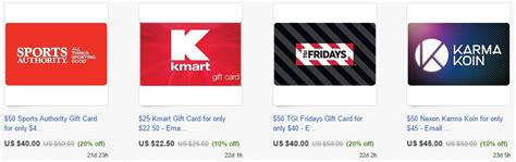 Stores That Sell Gift Cards For Other Stores - staples kmart lowe s other gift cards discounted may earn 5x with ink frequent
