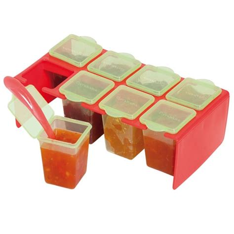 Freezer Kotak Kecil clevaportions freezer storage pots
