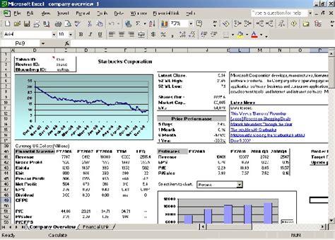 commercial model portfolio exle financial link for excel 1 1 8 screenshots