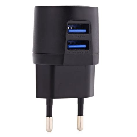 Travel Charger Ume 2 Usb 1a 21a Usb 3in1 Kabel Original awei usb travel charger 2 port 2 1a eu c 900
