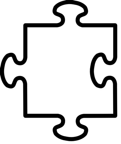 large jigsaw puzzle template jigsaw template clipart best