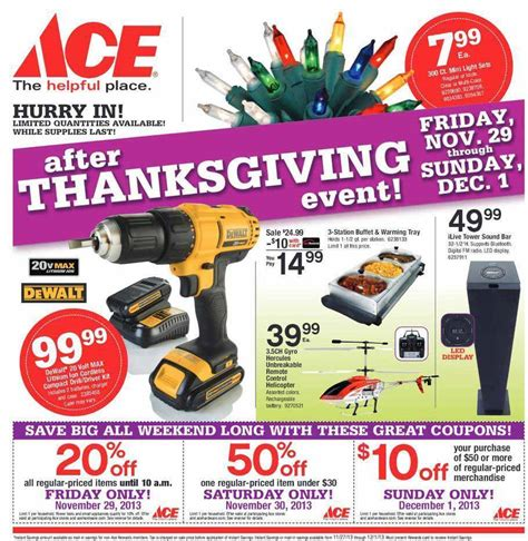 Ace Hardware Flyer | ace hardware black friday 2013 ad find the best ace