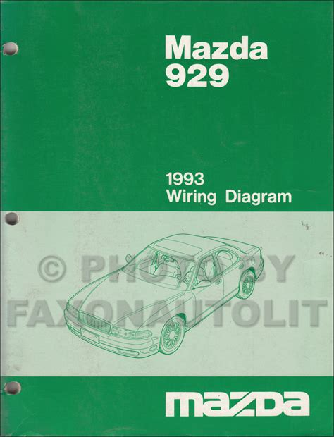 buy car manuals 1993 mazda 929 free book repair manuals 1993 mazda 929 wiring diagram manual original