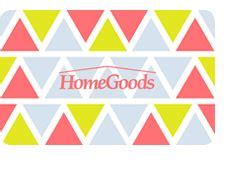 Homegoods Gift Card - tj maxx marshalls home goods gift card 206 42 free