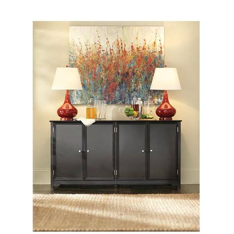 home decorators console table home decorators collection oxford black storage console