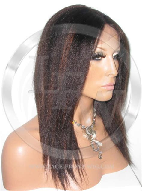 1b 33 hair color american yaki lace wig color 1b 33 12 inch