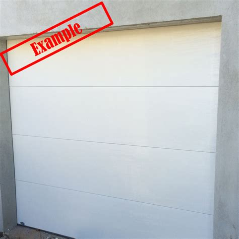 Insulated Garage Door Ara Insulated Sectional Panel Garage Door Surfmist Color 2230mm X 3015mm Automatic Remote