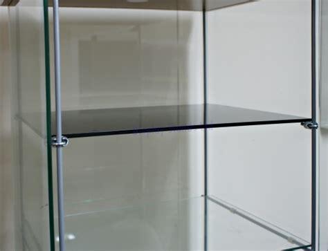 Acrylic Shelves with Brackets for Ikea Detolf Cabinet (DSA/IK)