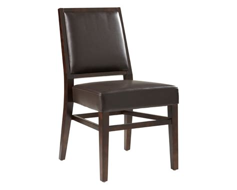 Brown Leather Dining Chair Citizen Dining Chair Brown Leather Metro Element