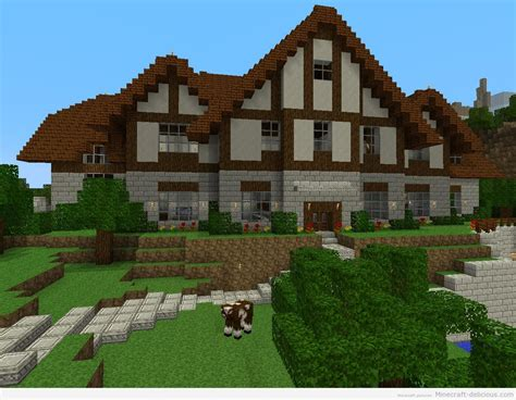 big minecraft house big houses images google search minecraft ideas
