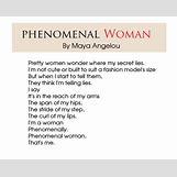 Maya Angelou Phenomenal Woman | 640 x 517 jpeg 101kB
