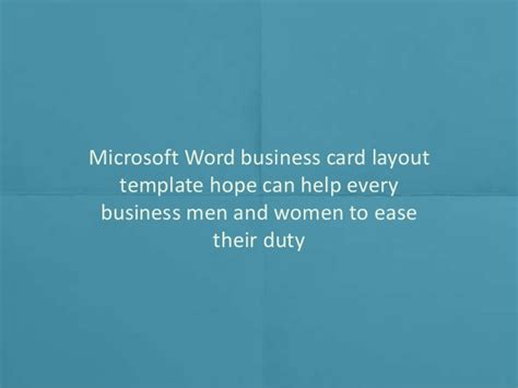 Business Card Design Templates Microsoft by Printable Blank Business Card Design Templates For Ms Word