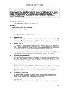 Business Letter Sample Contract sample contract agreement contract agreement sample 23 png