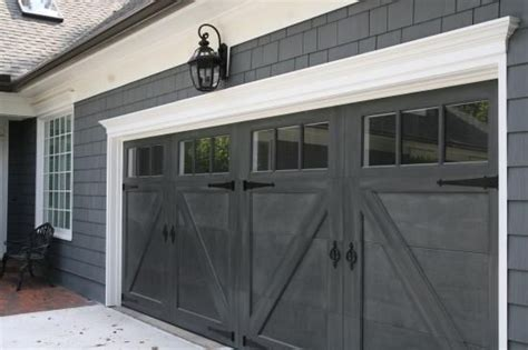 Black Carriage Garage Door Hang Your Hat Pinterest Black Garage Door
