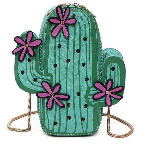 Clutch Payet Bunga G1159 1 novelty clutch cactus flower shape leather messenger