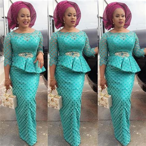 latest nigerian styles with cod lace cord lace dress styles aso ebi hairstylegalleries com