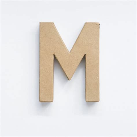 Make Paper Mache Letters - make painted concrete letters