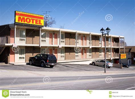 motel and inn motel am 233 ricain image libre de droits image 8845106