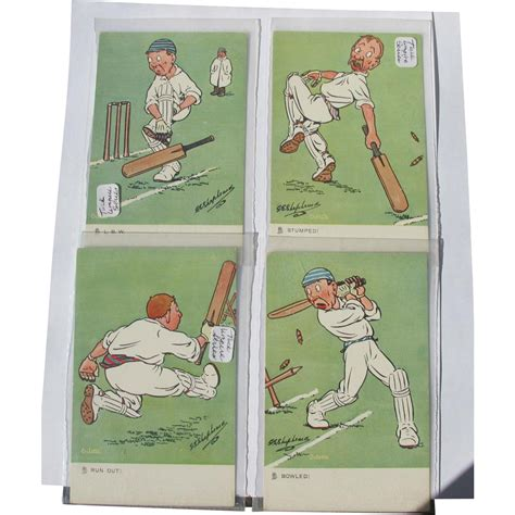 how to make four postcards on the same sheet in word postcard series cricket 1910 four post cards of same