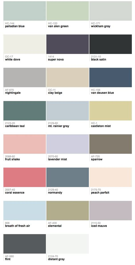 2014 color trends from benjamin allprocorp