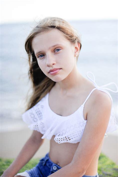 little model young teen girl photo by joanna depa teen girl portrait model face