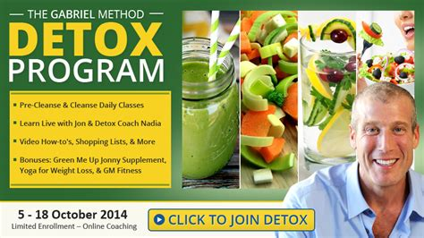 Gabriel Method Detox Reviews by How Detox Helps Weight Loss
