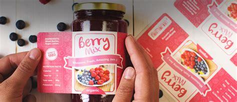 Aufkleber Marmelade by Jam Jelly Labels Sticker Mule
