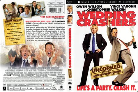 Wedding Crashers Leave 1 by Wedding Crashers Uncorked Dvd Cover 2005 R1