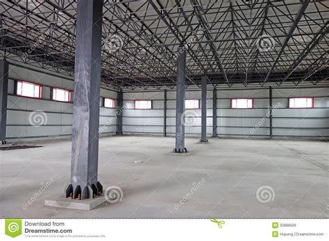 bid stock empty warehouse stock photo image of building light