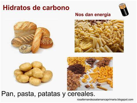 alimentos que contengan hidratos de carbono maestra de primaria los alimentos vitaminas hidratos de
