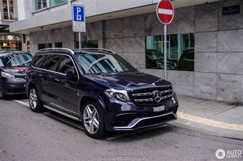 2017 Mercedes Gls 63 Amg by Mercedes Amg Gls 63 X166 10 Stycze 2017 Autogespot