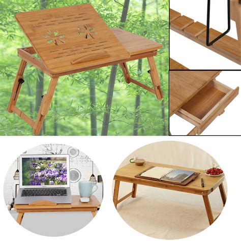 sofa tray table laptop bamboo natural foldable laptop desk bed sofa tray stand