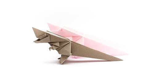 origami the way of the rex volume 1 books การพ บกระดาษเป นไดโนเสาร ท เร กซ origami tyrannosaurus rex