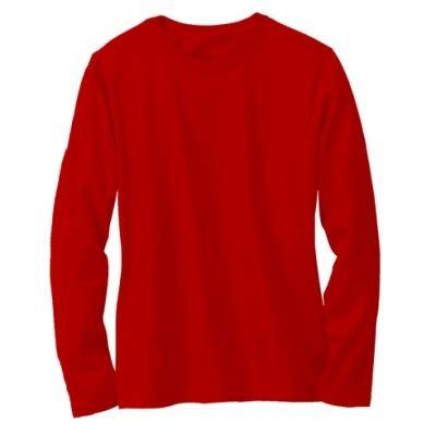 Kaos Hello Lengan Panjang Merah Putih kaos polos lengan panjang warna merah cabe oblong merah