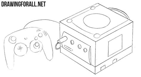 Memory Card Alnect how to draw a nintendo gamecube drawingforall net