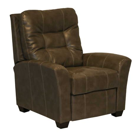 Catnapper Recliner Handle by Catnapper Cooper Bonded Leather No Handle Multi Position Reclining Chair Molasses