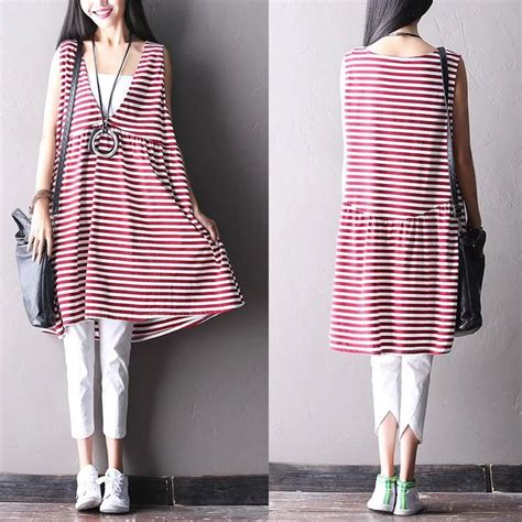 Dres Stripe Baju Cwe Pakaian Perempuan 17 best images about dress on cotton linen striped dresses and simple