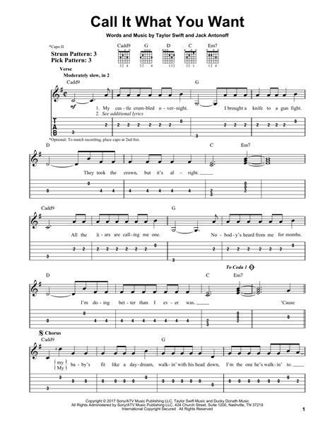taylor swift call it what you want chords taylor swift call it what you want sheet music