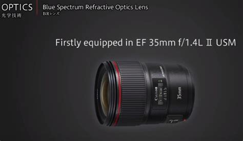 Lensa Cembung Canon apa yang spesial tentang teknologi lensa di canon blue spectrum refractive lens onkamera