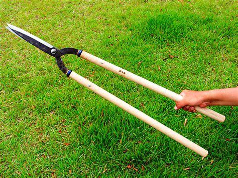 types of gardening tools manaka karikomi shears kanto type 195mm edges 600mm