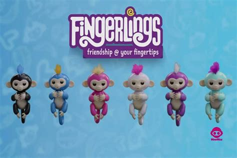 Fingerlings Baby Monkey friendship is literally at your fingertips with
