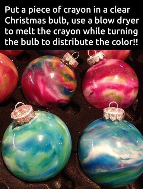 crayon ornaments christmas pinterest ornaments and