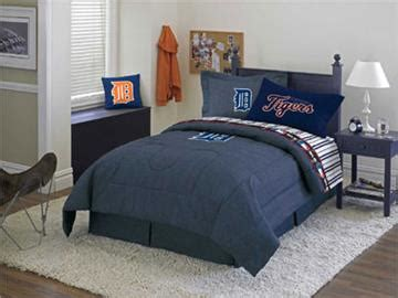 detroit tigers bedroom detroit tigers denim comforter sheet set combo