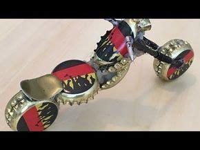 Motorrad Modell Basteln by Ein Harley Davidson Custom Motorrad Aus Kronkorken Machen